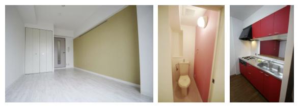 退去後のリフォーム時に、低コストで部屋の印象を大きく変えるプチリノベーション。